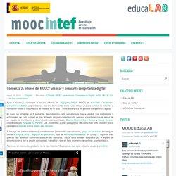 """Comienza 3ª edición del MOOC """"Enseñar y evaluar la competencia digital"""""""