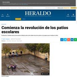 Comienza la revolución de los patios escolares