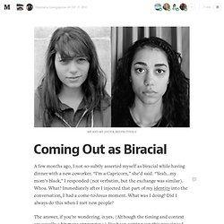Coming Out as Biracial — Human Parts