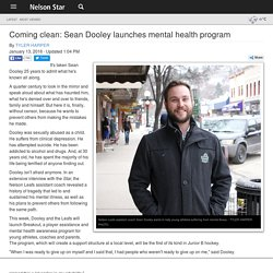 Coming clean: Sean Dooley launches mental health program - Nelson Star