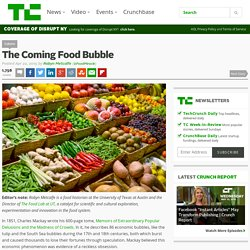 The Coming Food Bubble