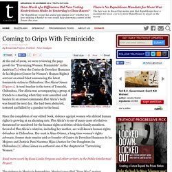 Coming to Grips With Feminicide