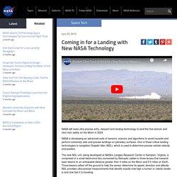 Avancée technologique de la Nasa pour de nouveaux atterrissage