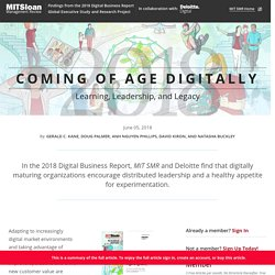 Coming of Age Digitally