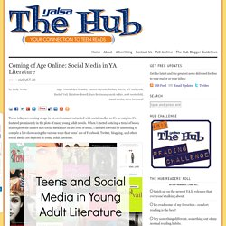 Coming of Age Online: Social Media in YA Literature