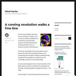A coming revolution walks a fine line