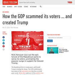 saw it coming— but Trump's own party didn't. Hanauer