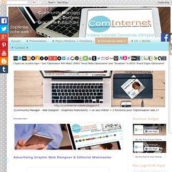 ComInternet Community Manager Web Designer VAL VANNES MORBIHAN 56 BRETAGNE (naviginternet@orange.fr): ♦ Formatrice Web.3