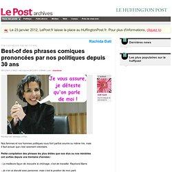 Best-of des phrases comiques prononcées par nos politiques depuis 30 ans - épik épok sur LePost.fr (20:48)