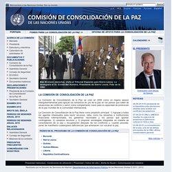 Comisión de Consolidación de la Paz de las Naciones Unidas