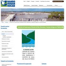 Comisión de Cuenca para el Rescate de Ríos, Barrancas y Cuerpos de Agua en el Valle de México