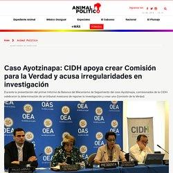 CIDH apoya Comisión de la Verdad para Caso Ayotzinapa