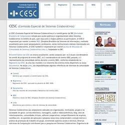 CESC - Comissão Especial de Sistemas Colaborativos