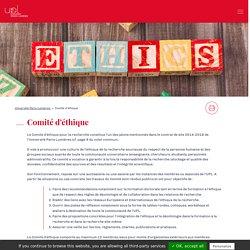 Comité d'éthique - UPL