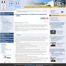 Comité d'éducation à la santé et à la citoyenneté (CESC)