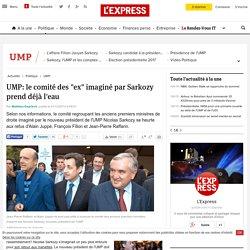 """UMP: le comité des """"ex"""" imaginé par Sarkozy prend déjà l'eau"""
