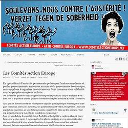 Les Comités Action Europe