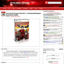 Command & Conquer: Red Alert 3 – Uprising Multilenguaje (Español) (PC-GAME)