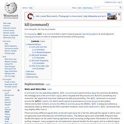 kill (command)