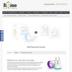 Prise commandable à distance avec contrôle de la consommationInstallateur Domotique – Alarme – vidéosurveillance