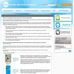Commande de documents - Les Droits des Non-Fumeurs