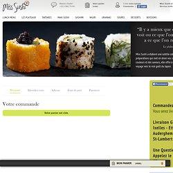 Commande - Miss Sushi