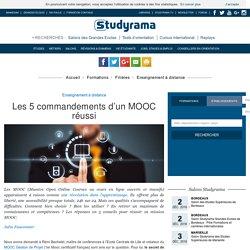 Les 5 commandements d'un MOOC réussi