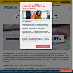 Les 10 commandements pour réussir sa formation en digital learning - VISIPLUS academy
