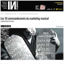 Les 10 commandements du marketing musical