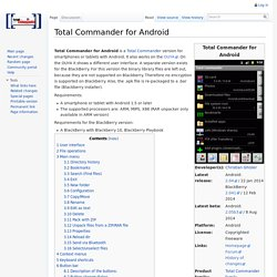 Total Commander for Android - TotalcmdWiki