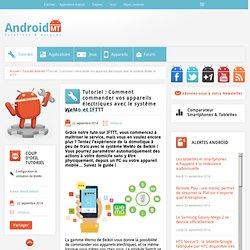 WeMo : Commander vos appareils électroniques grâce à IFTTT Android MT