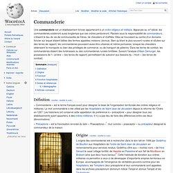 Commanderie