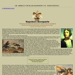 Napoleon's army, pictures, maps, battles, commanders, uniforms, organization.