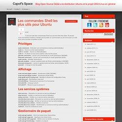 Les commandes Shell les plus utils pour Ubuntu – Blog Open Source Dédié a la distribution Ubuntu et le projet GNU/Linux en général