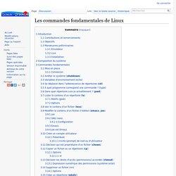 Les commandes fondamentales de Linux — Linux France
