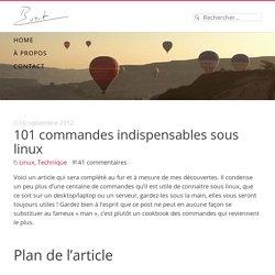 101 commandes indispensables sous linux - Buzut