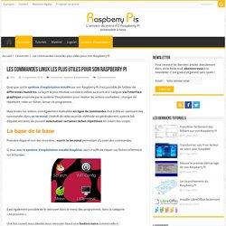 Les commandes Linux les plus utiles pour son Raspberry Pi