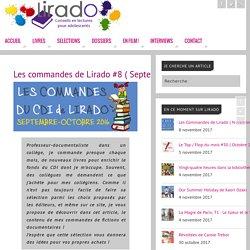Les commandes de Lirado #8 ( Septembre – Octobre 2016)