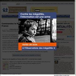 Rapport sur les inégalités en France, édition 2017