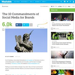 The 10 Commandments of Social Media for Brands