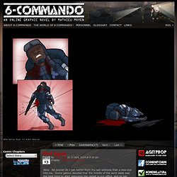 6-Commando - An Online Graphic Novel by Mathieu Moyen