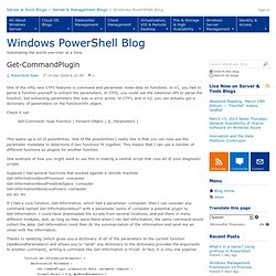 Get-CommandPlugin - Windows PowerShell Blog