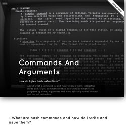 Commands And Arguments