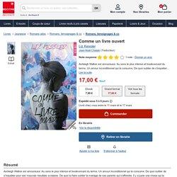 Comme un livre ouvert - 306 p. - 17€