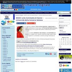 MOOC sulla Commedia di Dante - Università della Svizzera italiana