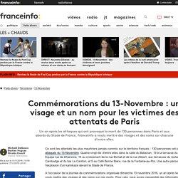 Commémorations du 13-Novembre : un visage et un nom pour les victimes des attentats de Paris