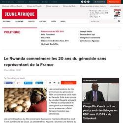 Le Rwanda commémore les 20 ans du génocide sans représentant de la France