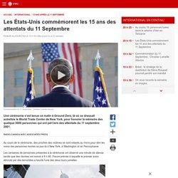 Les États-Unis commémorent les 15ans des attentats du 11Septembre