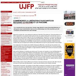 COMMÉMORER LA LIBÉRATION D'AUSCHWITZ EN REFUSANT LE RACISME ET LE FASCISME