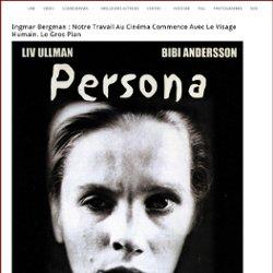 Ingmar Bergman : notre travail au cinéma commence avec le visage humain. Le gros plan